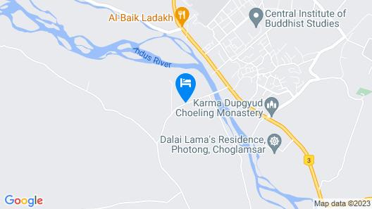 Hotel Ladakh Marvel Map