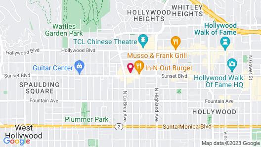 Dusk Hotel Map