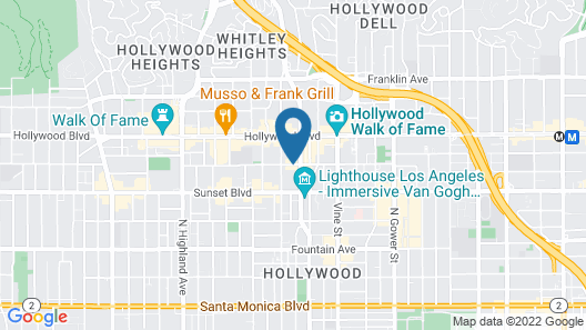 Dream Hollywood Map