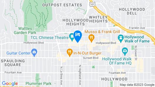 Samesun Hollywood Map