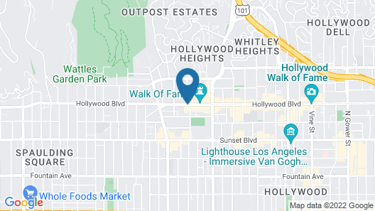 The Hollywood Roosevelt Map