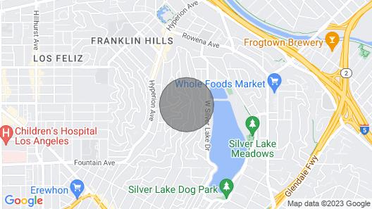 Private Hillside Silver Lake Art Studio Map