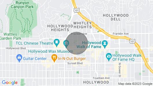 New Modern Hollywood Getaway Map
