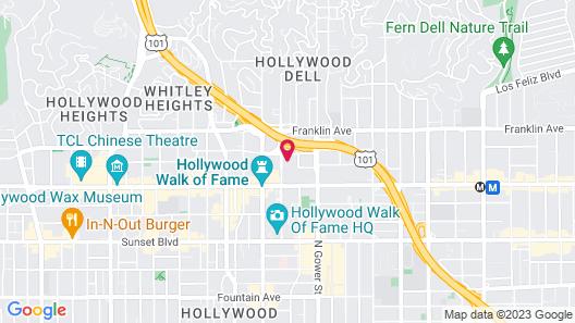 Kimpton Everly Hotel, an IHG Hotel Map