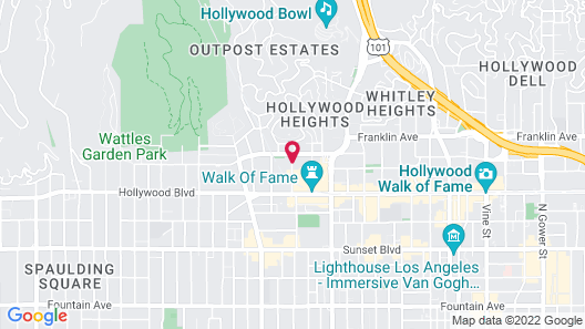 Orange Drive Hostel Map