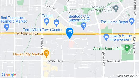 Best Western Plus Heritage Inn Rancho Cucamonga/Ontario Map