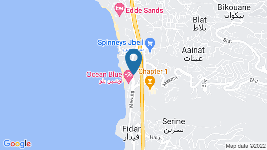 Victory Byblos Hotel & Spa Map