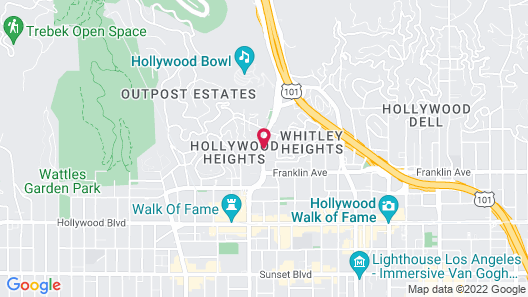 BLVD Hotel & Suites-Walking Distance to Hollywood Walk of Fame Map
