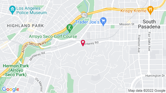 Arroyo Vista Inn Map