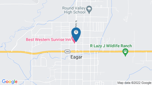 Best Western Sunrise Inn Map