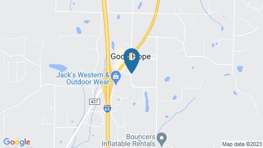 Econo Lodge Cullman Map