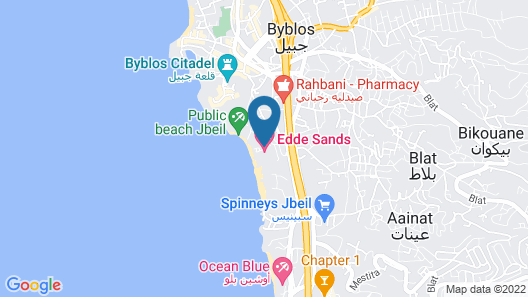 Boutique Hotel -Eddesands Hotels&Resorts Map