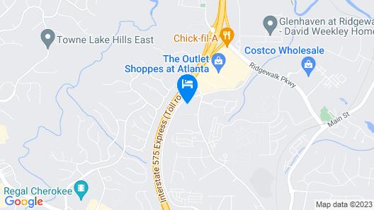 Holiday Inn Express & Suites Atlanta N - Woodstock, an IHG Hotel Map