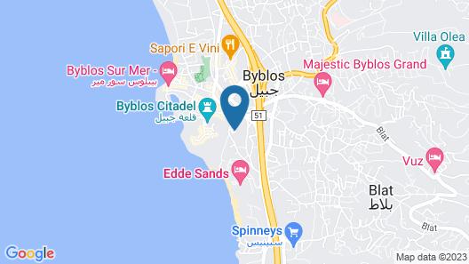 Aleph Boutique Hotel Map