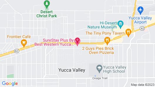 Best Western Joshua Tree Hotel & Suites Map