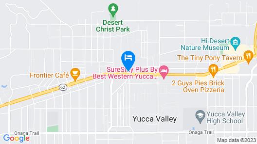 Super 8 by Wyndham Yucca Val/Joshua Tree Nat Pk Area Map