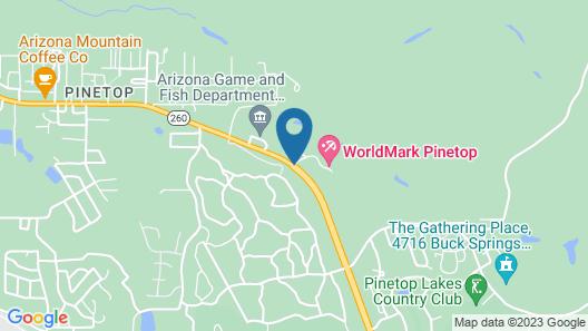 WorldMark Pinetop Map