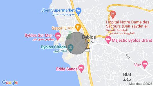 Byblos City Square, Studio Map