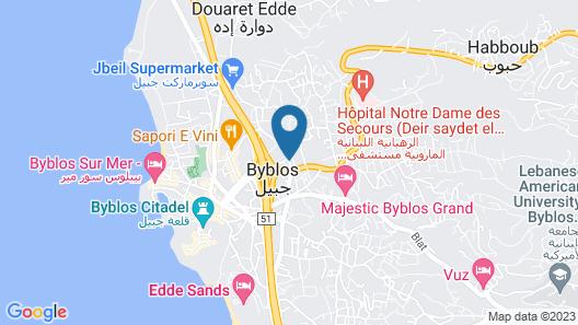 Canari de Byblos Map