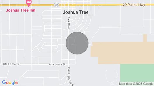 Joshua Tree Desert Casa With Pool Map