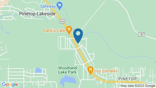 Quality Inn Pinetop Lakeside Map