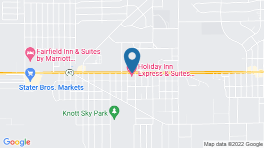 Holiday Inn Express Hotel & Suites Twentynine Palms, an IHG Hotel Map