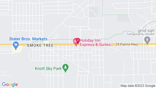 Motel 6 Twentynine Palms, CA Map