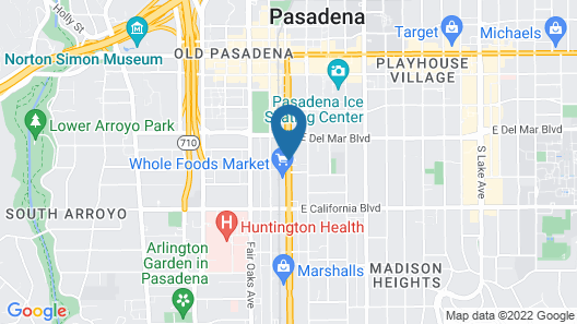 GreenTree Pasadena Inn Map