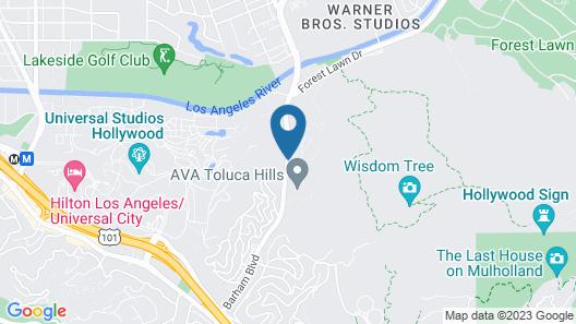 Oakwood at Toluca Hills Map
