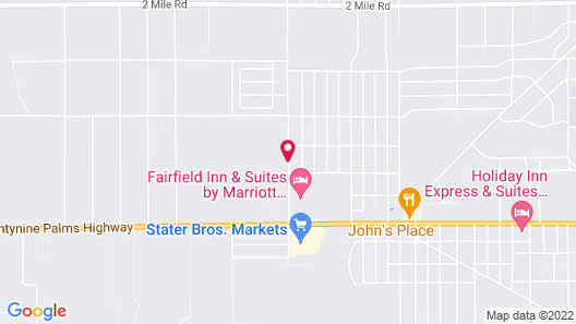 Fairfield Inn & Suites by Marriott Twentynine Palms Map