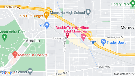 Embassy Suites by Hilton Arcadia-Pasadena Area Map
