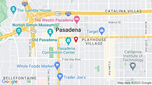 Hyatt Place Pasadena Map