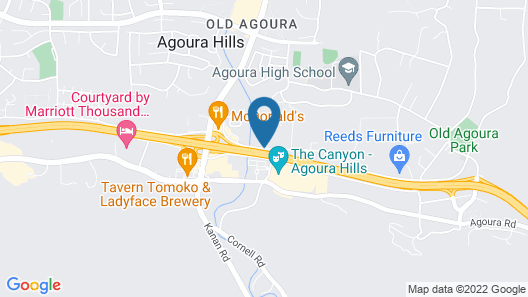 Homewood Suites by Hilton Agoura Hills Map