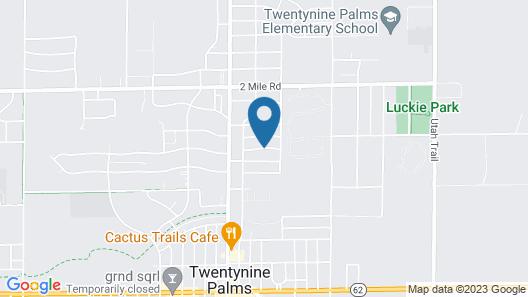 Sunnyvale Garden Suites - Joshua Tree National Park Map