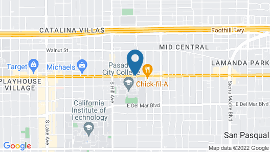 Howard Johnson by Wyndham Pasadena Map