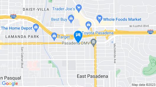 Holiday Inn Express Hotel and Suites Pasadena-Colorado Blvd, an IHG Hotel Map