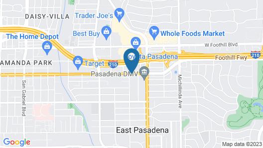Best Western Pasadena Royale Inn & Suites Map