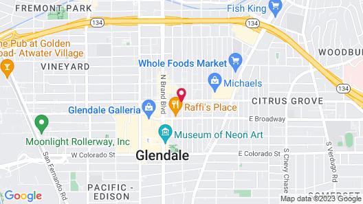 Residence Inn by Marriott Los Angeles Glendale Map