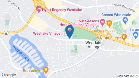 Westlake Village Inn (49594) Map