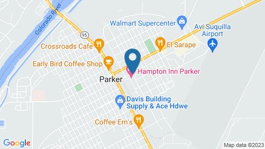 Hampton Inn Parker Map