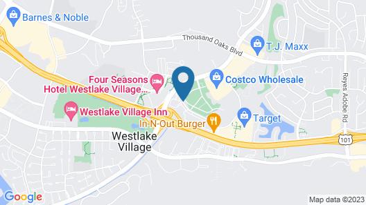 Residence Inn by Marriott Los Angeles Westlake Village Map