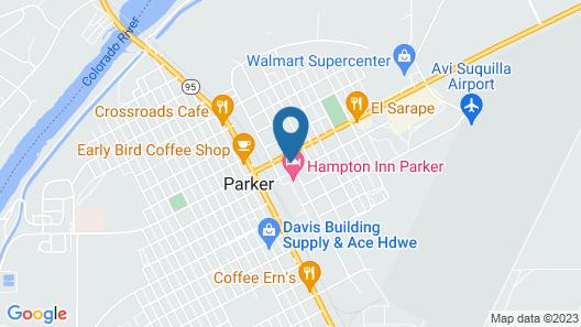 Best Western Parker Inn Map