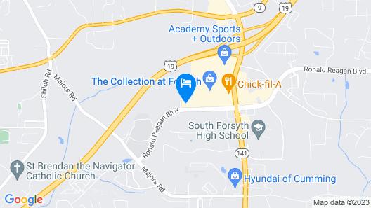 Home2 Suites by Hilton Cumming Atlanta, GA Map