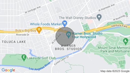 Business Travel 1bdrm Apt @ WB Studios Map
