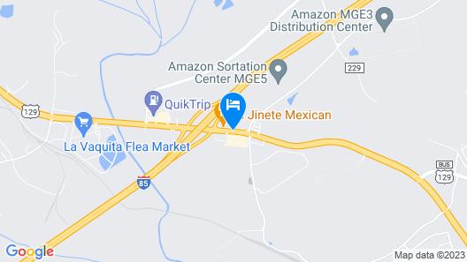 Quality Inn Map