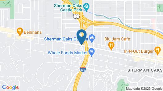Courtyard by Marriott Los Angeles - Sherman Oaks Map