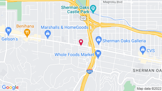 The Sherman Hotel Map