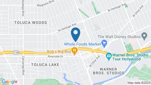 Hotel Amarano Burbank-Hollywood Map
