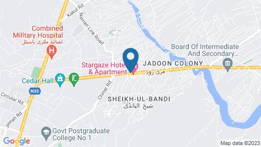 Stargaze Hotel & Apartments Map