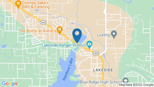 Lake of the Woods Resort Map